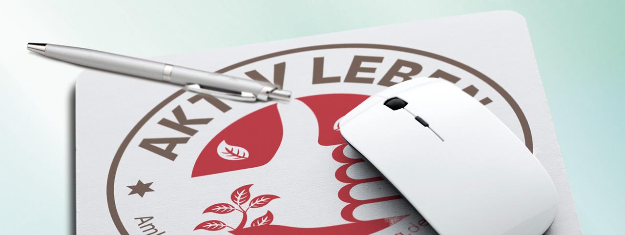 mousepad-mit aktiv-leben-logo